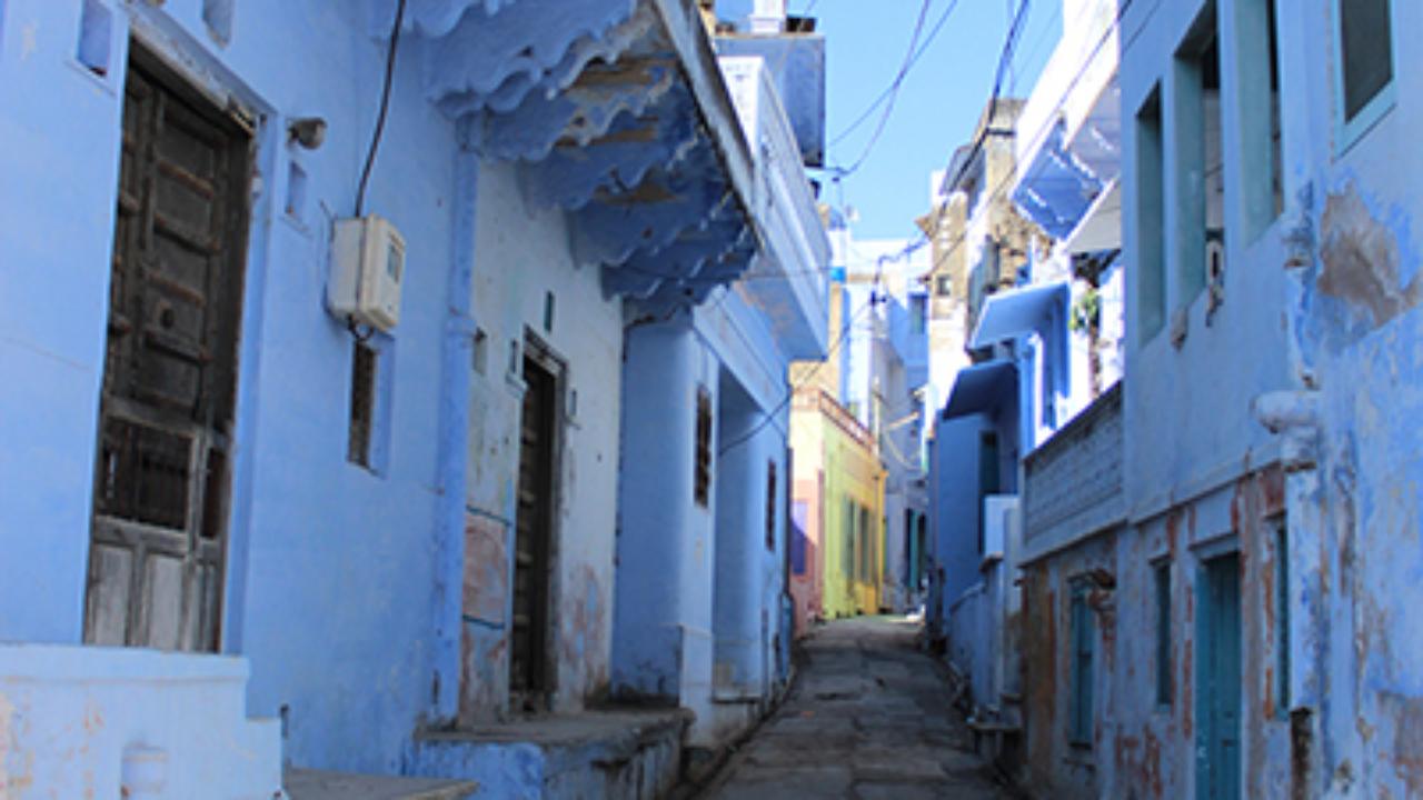 A street in Sambhar