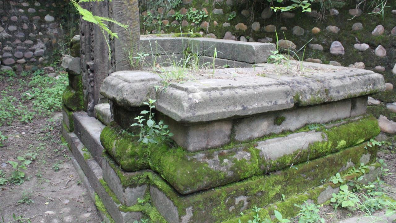 Ancient Temple at Dholbaha