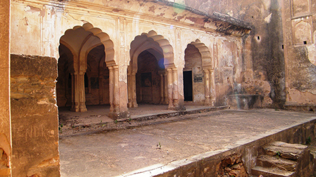 Inside the Khetri Fort