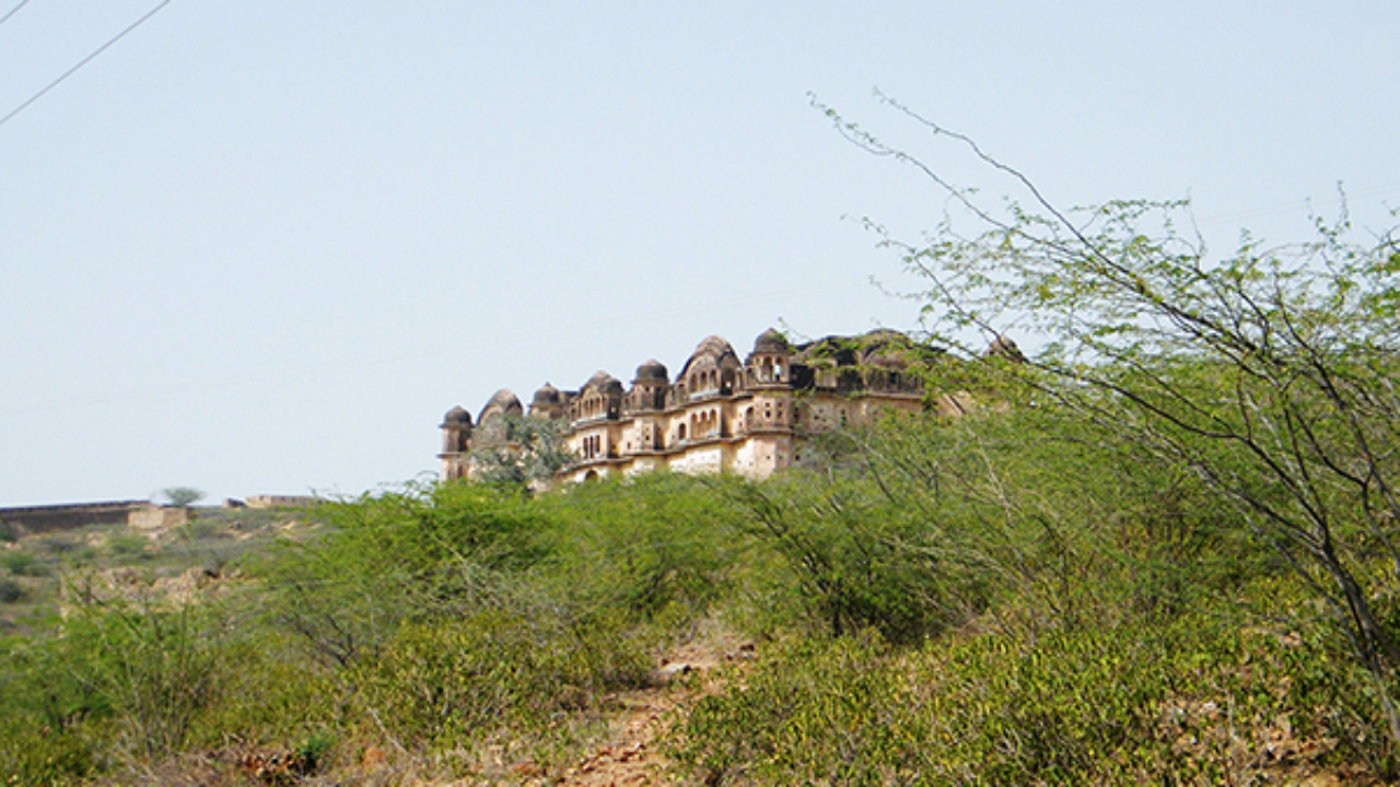 Khetri Fort built by Maharaja Ajit Singh
