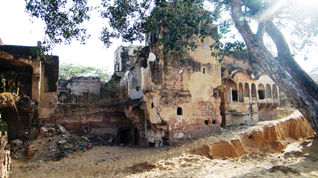 The Gangiasar Fort
