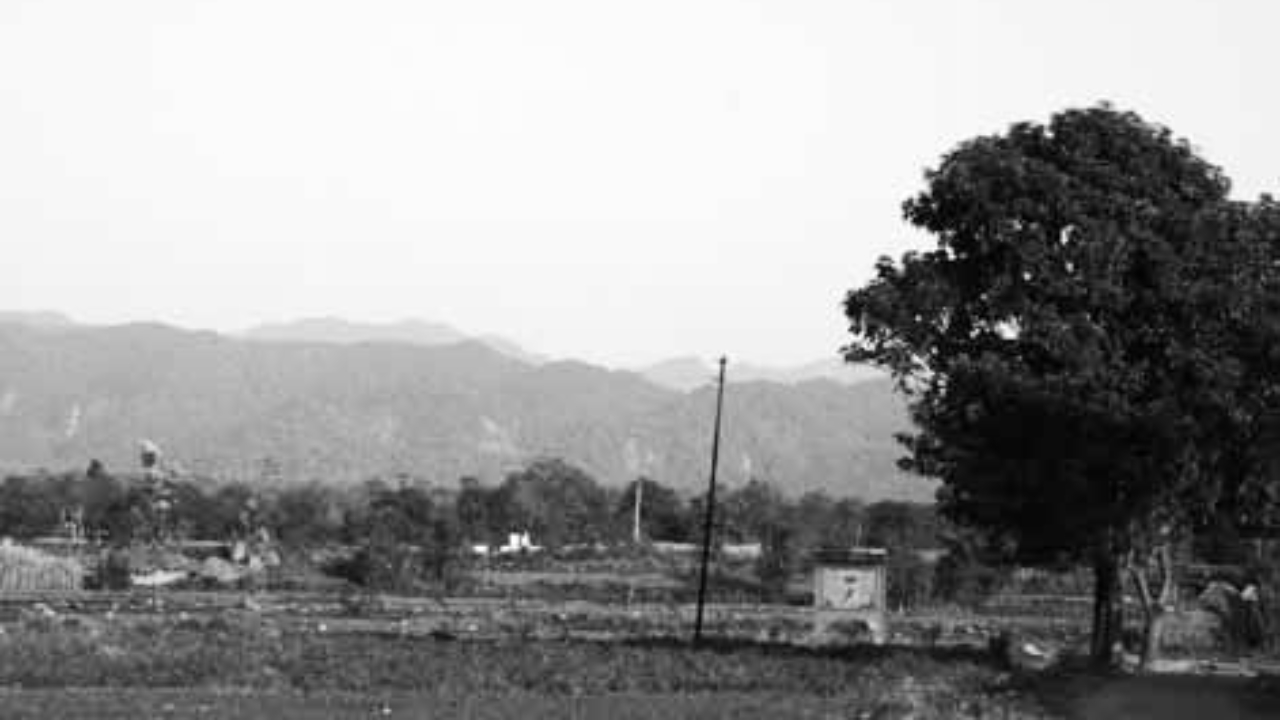 View of Chhoti Haldwani
